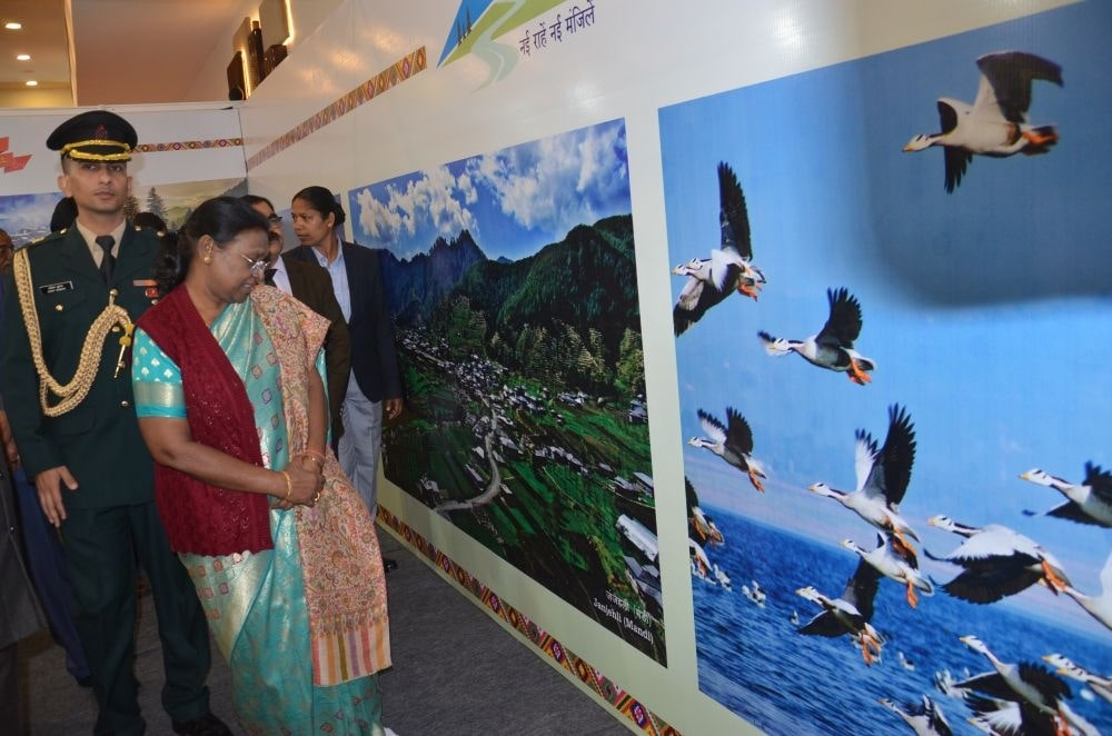 <p>Hon' ble Governor of Jharkhand attended the inaugural ceremony of Jharkhand Tourism Travel & tourism Bazar (TTB) A Travel Exhibition on dated 20/12/2019</p>