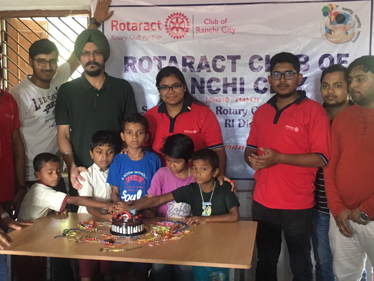 <p>Rotary Club of Ranchi & Rotaract Club of Ranchi City jointly celebrated Friendship Day with the school kids of a blind school located at Harmu road in Ranchi.To mark the…