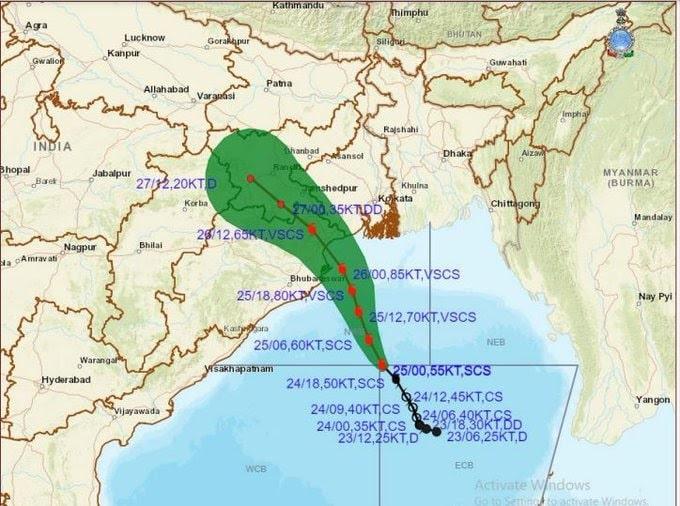 <p>यास चक्रवाती तूफान के कारण झारखंड में 26 एवं 27 मई को अधिकांश स्थानों पर हल्की से मध्यम वर्षा तथा कहीं-कहीं बहुत भारी वर्षा और अलग-अलग स्थानों पर अत्यधिक भारी वर्षा तथा 28 मई को…