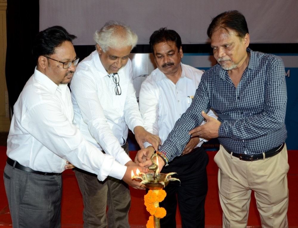 <p>Shri Ramlakhan Prasad Gupta, Director of Information and Public Relations Department inaugurated the European Film Festival at Audrey House in Ranchi on Friday.</p>