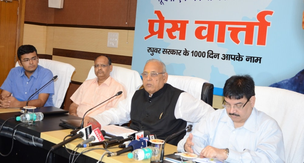 <p>Jharkhand Health Minister Ramchandra Chandrawanshi in a press meeting held on Sunday, announced that the construction of three medical colleges at Palamau, Hazaribag and Dumka is…