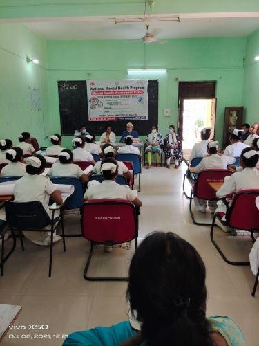 <p>Lecture delivered on mental health importance in Nursing School, Sadar hospital Ranchi.</p>