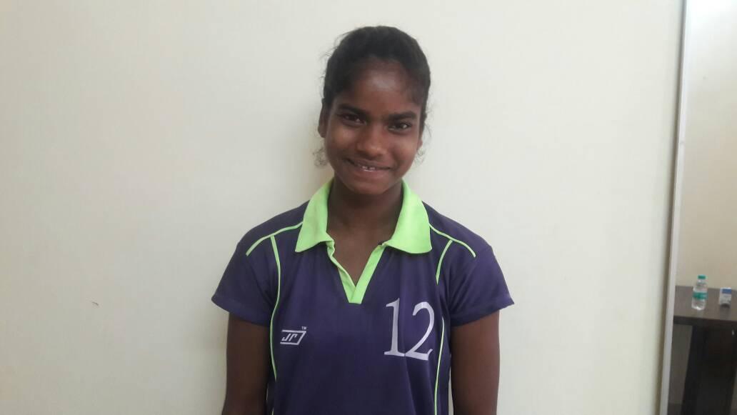 <p>Sangita Kumari who madeJharkhand team defeatDelhi Hockey Team and enterQuarter final inthe 7th Hockey India Junior National Women Hockey Championship in…