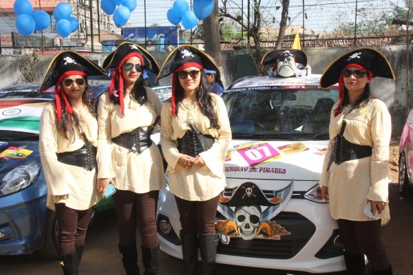 <p>Participants of JCI,Ranchi,organised Car Rally in Ranchi</p>