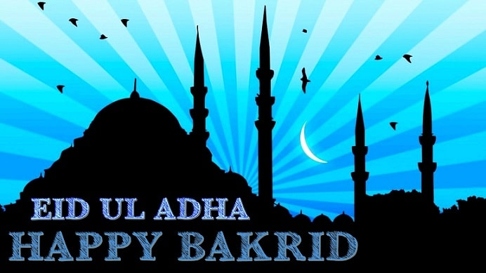<p>Happy Bakrid</p>