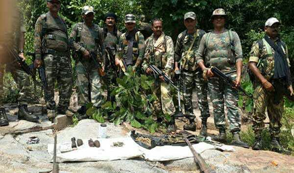 <p>Five members of banned PLFI naxal group are reported to have been killed in an encounter with the security forces.The encounter took place in area under Bano police station of Simdega…