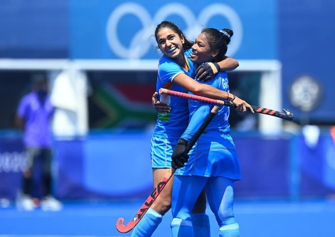 <p>For the first Indian Women's Hockey Team advance to the Quarter-Finals of Tokyo 2020.</p>