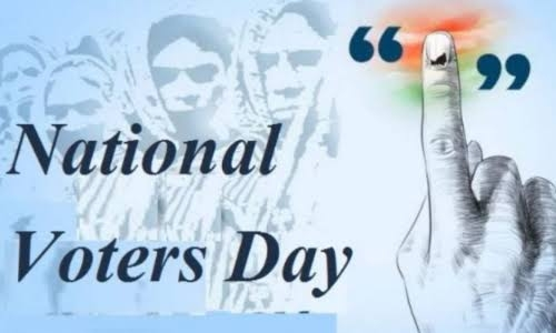 <p>India :11th National Voters' Day (NVD) to be celebrated on across the country on January 25,2021 </p>