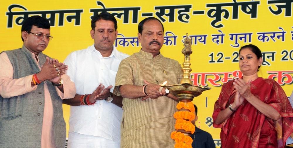 <p>Jharkhand Chief Minister Raghubar Das launches Kissan Mela cum Krishi Jagrukta Abhiyan (Agriculture Fair 2017 cum Agriculture Awareness Campaign) at Jawahar Lal stadium in…