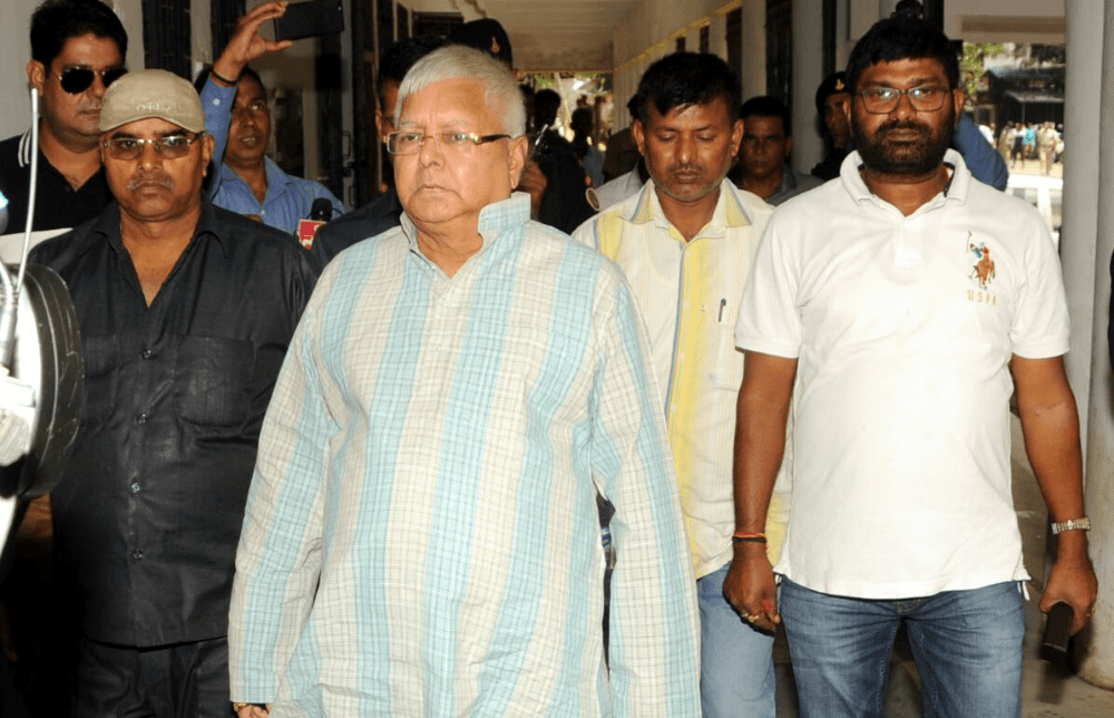 <p>Lalu Prasad Yadav who is busy criticising Bihar CM Nitish Kumar and Deputy CM Sushil Modi,was doing the rounds of the court in Ranchi in connection with multi million rupee fodder…