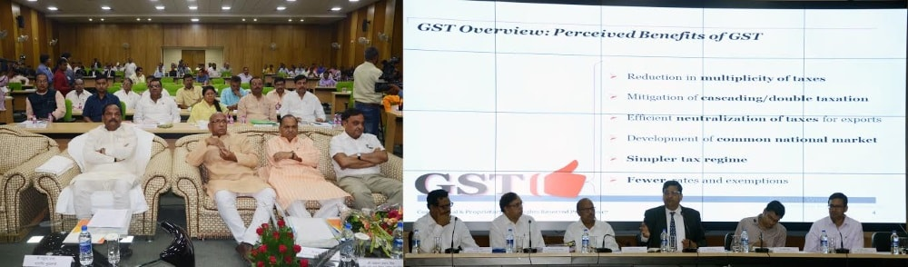 <p>A seminar on 'Perceived benefits of GST was held in Ranchi.It was participated by many VVIPs including Chief Minister Raghubar Das and Ministers CP Singh and Saryu Rai</p>