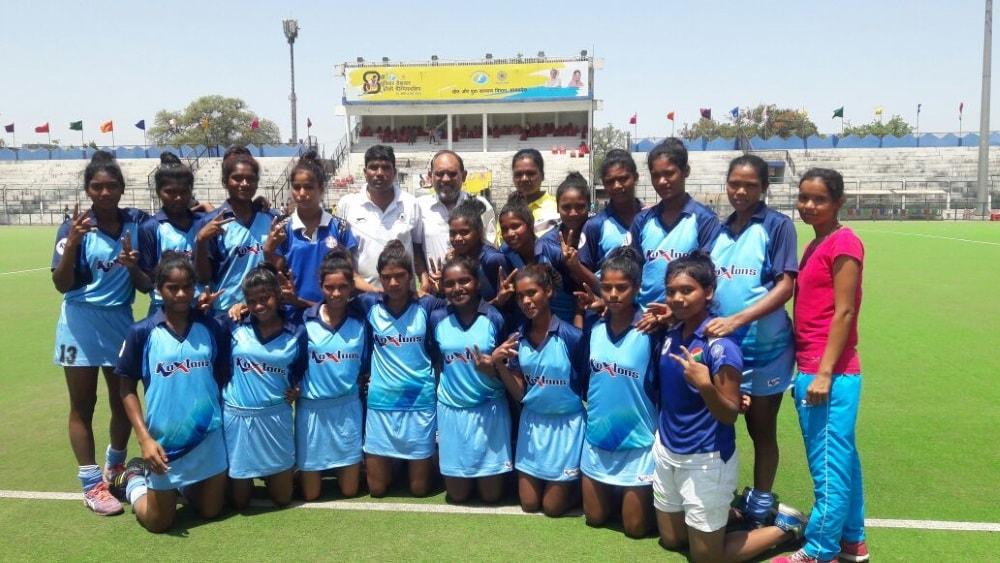 <p>भोपाल में चल रहे 8वीं हॉकी इंडिया जूनियर राष्ट्रीय हॉकी चैम्पियनशिप 2018 में आज झारखण्ड महिला हॉकी टीम ने सेमीफाइनल में हॉकी गांगपुर ओड़िसा की टीम को…