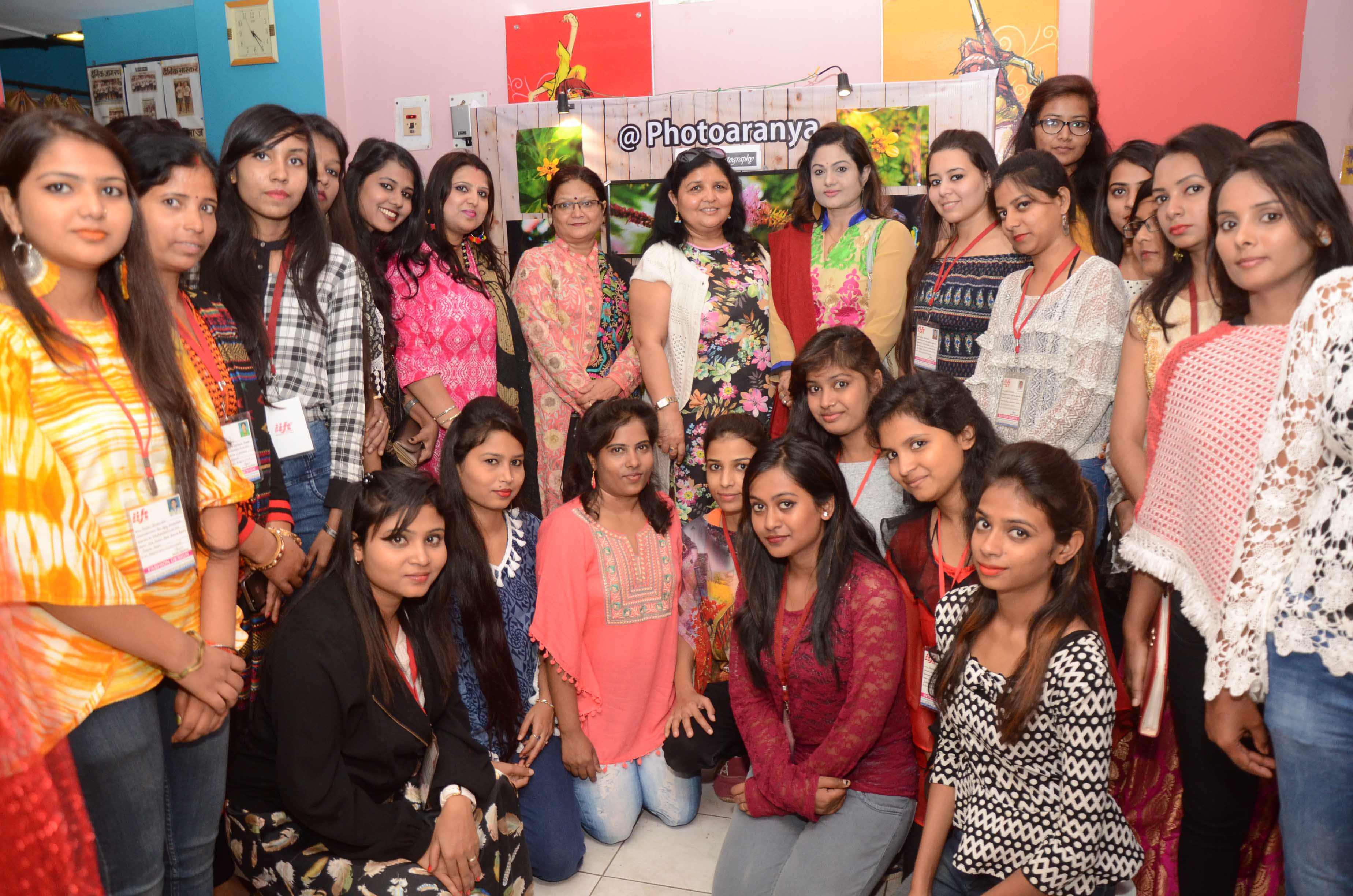 "<p>Poonam Pandey wife of DGP DK Pandey along with others during inaugural ceremony of the three day exhibition cum sale  ""Reflection 2017 "" organised by International…"