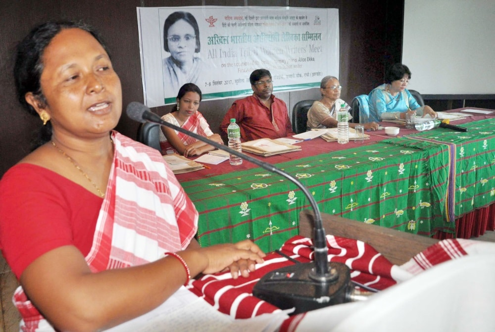 <p>Eminent women tribal writers speaks on the occasion of India's first ever All India Tribal Women Writer's Meet in Ranchi.</p>