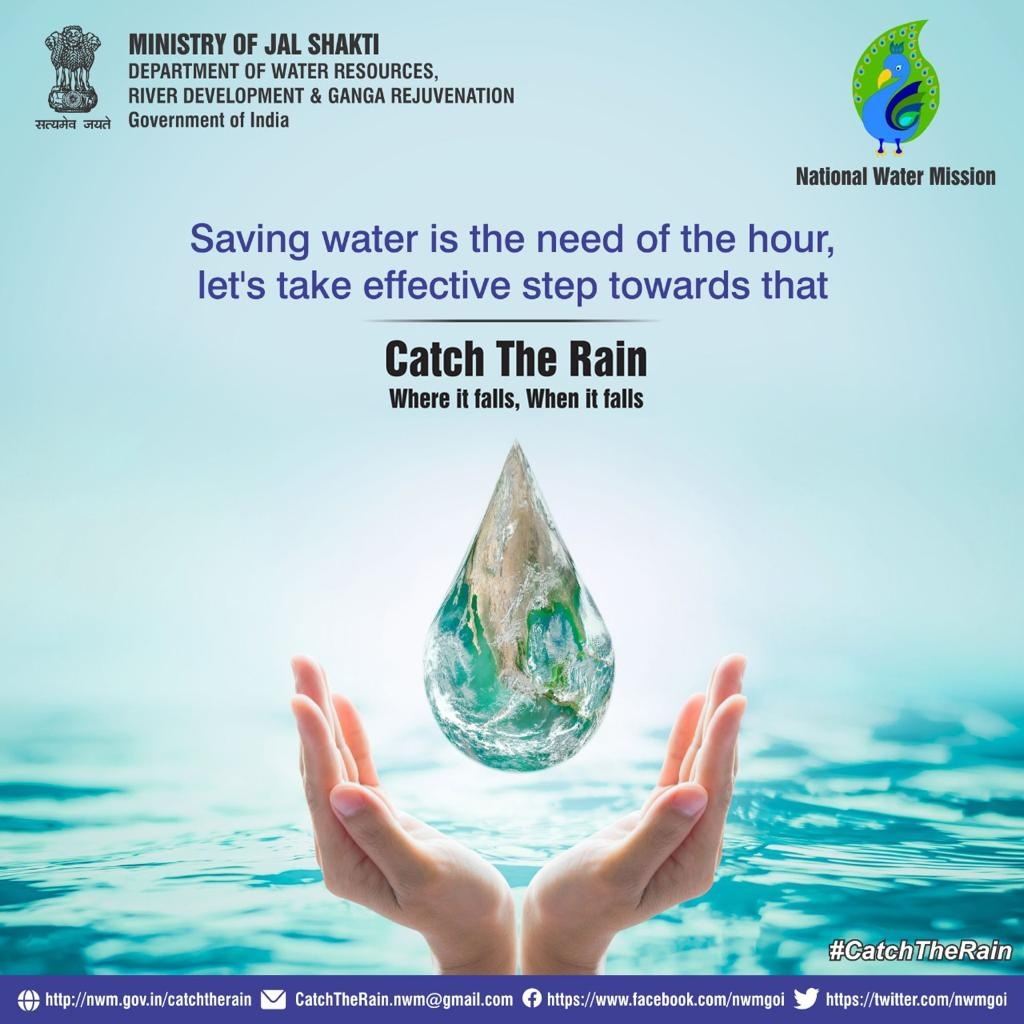 <p>Save Water Campaign aims to spread one message for every citizen to follow this appeal issued by the Union Ministry of Jal Shakti.</p>