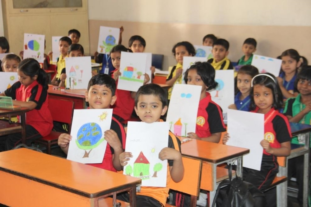 <p>Sarala Birla Public School conducted Painting competition & Food quiz on Tuesday.</p>