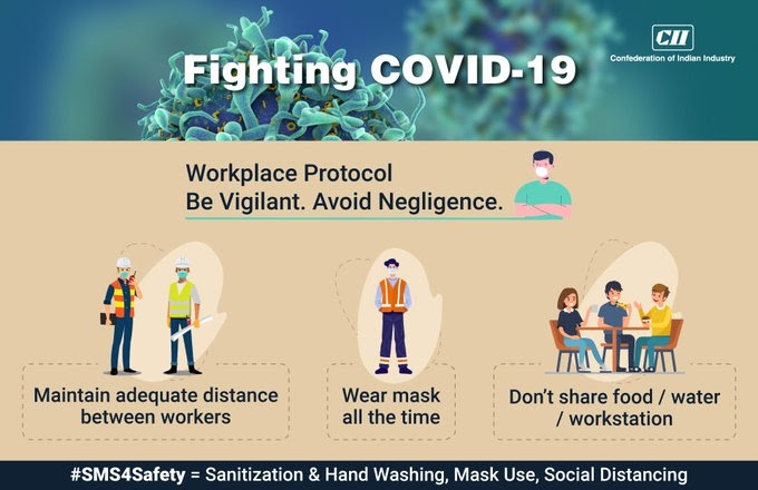 <p>Confederation of Indian Industry:@FollowCII .CII Tweets:Now is the time to act. Be vigilant &help India fight COVID -19. Get vaccinated if 45 + and encourage others to…