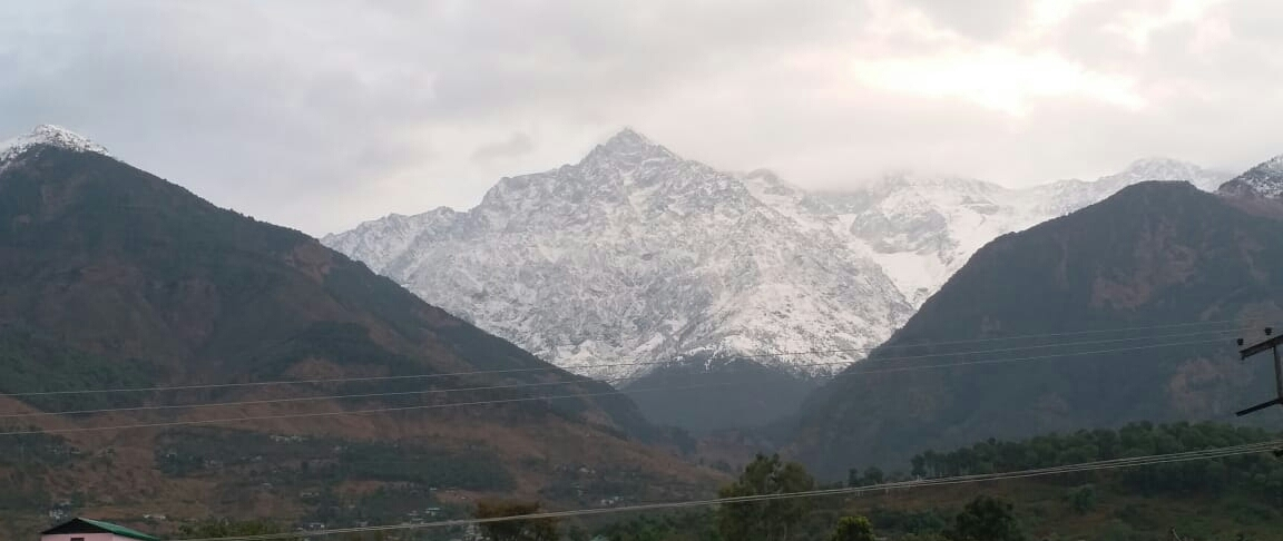 <p>First snow fall images of Dharamshala, Himachal Pradesh in India on November 15,2020.</p>