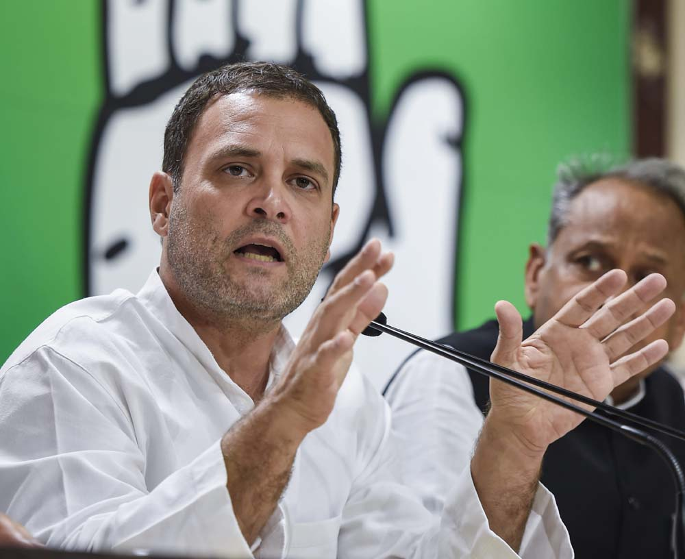"<p>Biggest buffoon-Rahul Gandhi: Telangana caretaker Chief Minister and TRS President K. Chandrasekhar Rao have described Congress President Rahul Gandhi as the ""biggest buffoon""…"