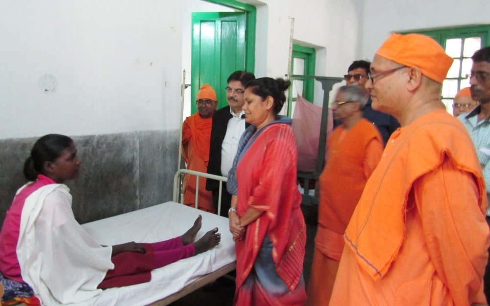 <p>Chief Secretary Rajbala Verma inaugurated the Sri Sri Jagadatri Puja Festival in Ramkrishna Mission TB sanatorium campus at Tupudana on Sunday.She also visited the patients admitted…