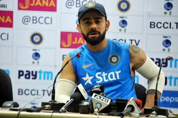 <p>A day before Third Test Match begins at JSCA stadium in Ranchi,India Team captain Virat Kholi addressed a press conference on Wednesday.As usual,he appeared confident and spoke…
