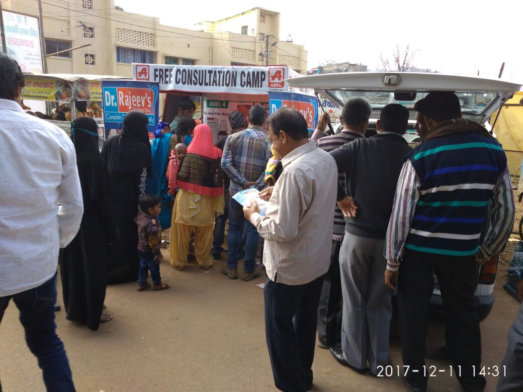 <p>Today, in the Risaldar Baba Dargah ground Doranda, on the auspicious occasion of Urs, a free health check-up camp was organized on the court of Youth Jharkhand, in which 163 people…
