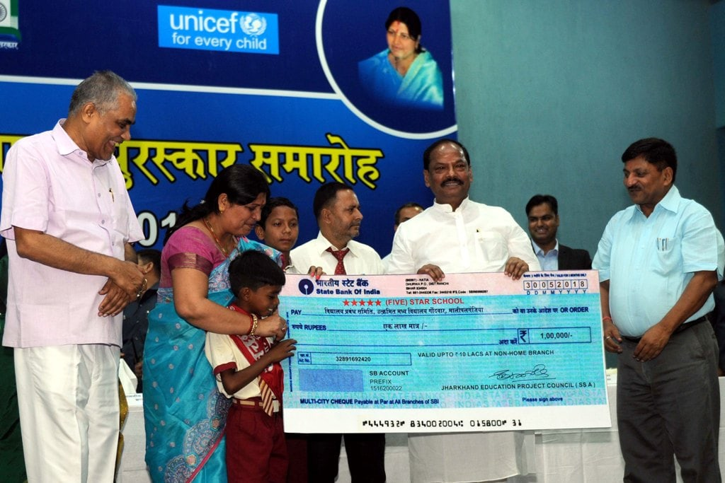 <p>The Departments of School Education & Literacy, Drinking Water & Sanitation and Panchayati Raj in partnership with UNICEF announced the winners of the '<em>Swachh Bharat-…
