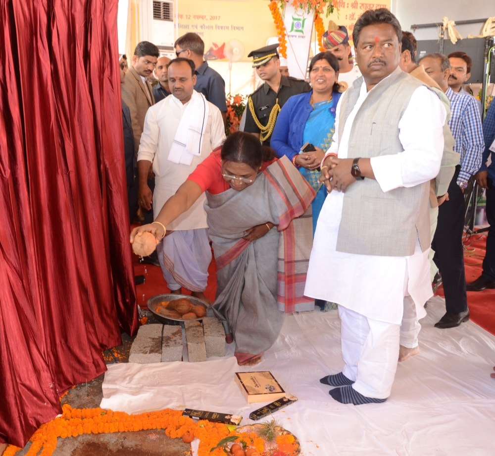 <p>Khunti district will soon get Jharkhand Raksha Shakti University.Foundation stone laying ceremony for the university was done in presence of Governor Draupadi Murmu, CM Raghubar…