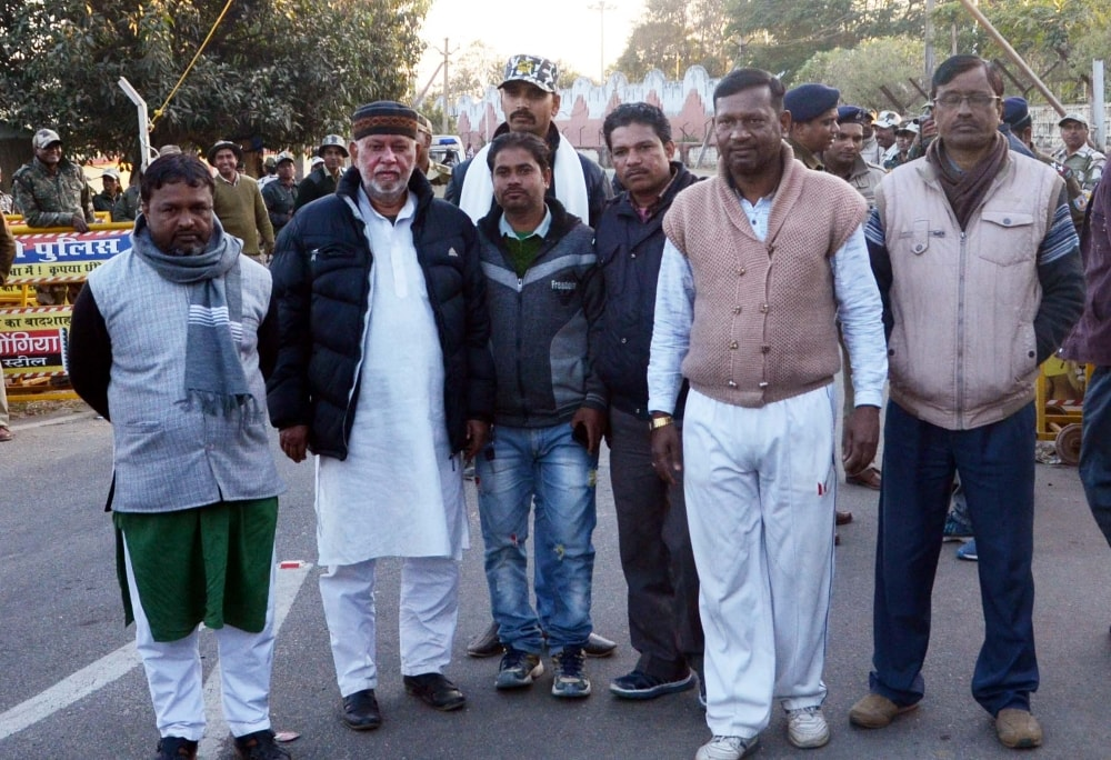 <p> RJD supporters and legislators from Bihar after announcement of the quantum of punishment to Lalu Prasad Yadav by the CBI Special court in fodder scam case, in Ranchi on Saturday.</p>…