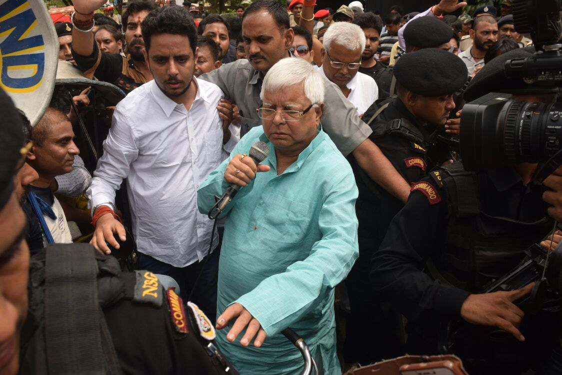 <p>Those who failed to be eligible to become SIs gained support of RJD Chief Lalu Prasad Yadav in Jharkhand.Addressing them Lalu promised to support them and criticised PM Narendra…