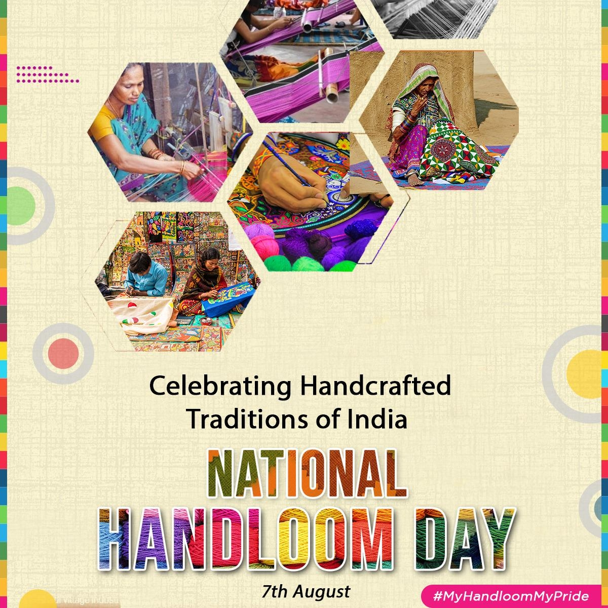 """<p>National Handloom Day 2021:</p> <p>India is observing National Handloom Day today. On this occasion, Home Minister Amit Shah Tweeted, """"I extend my warm wishes to our immensely…"""