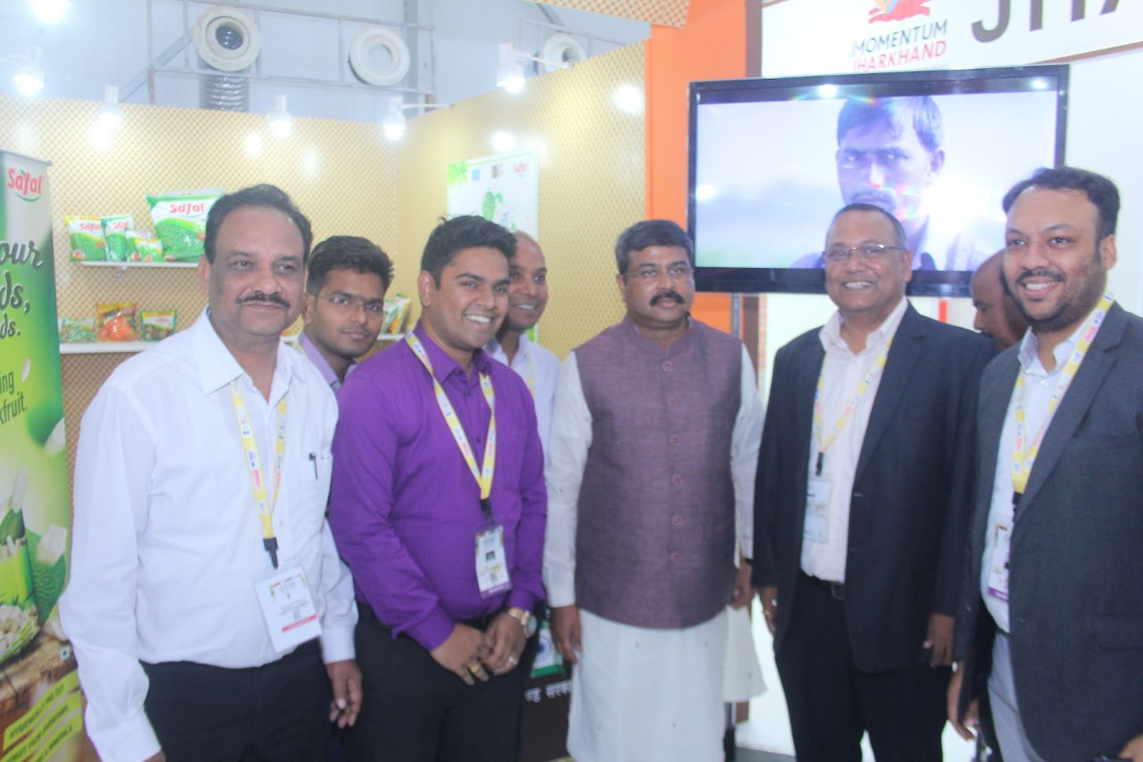<p>Dharmendra Pradhan, Minister of Petroleum & Natural Gas and Minister of Skill Development & Entrepreneurship visited Jharkhand State Pavilion at the World Food India 2017…