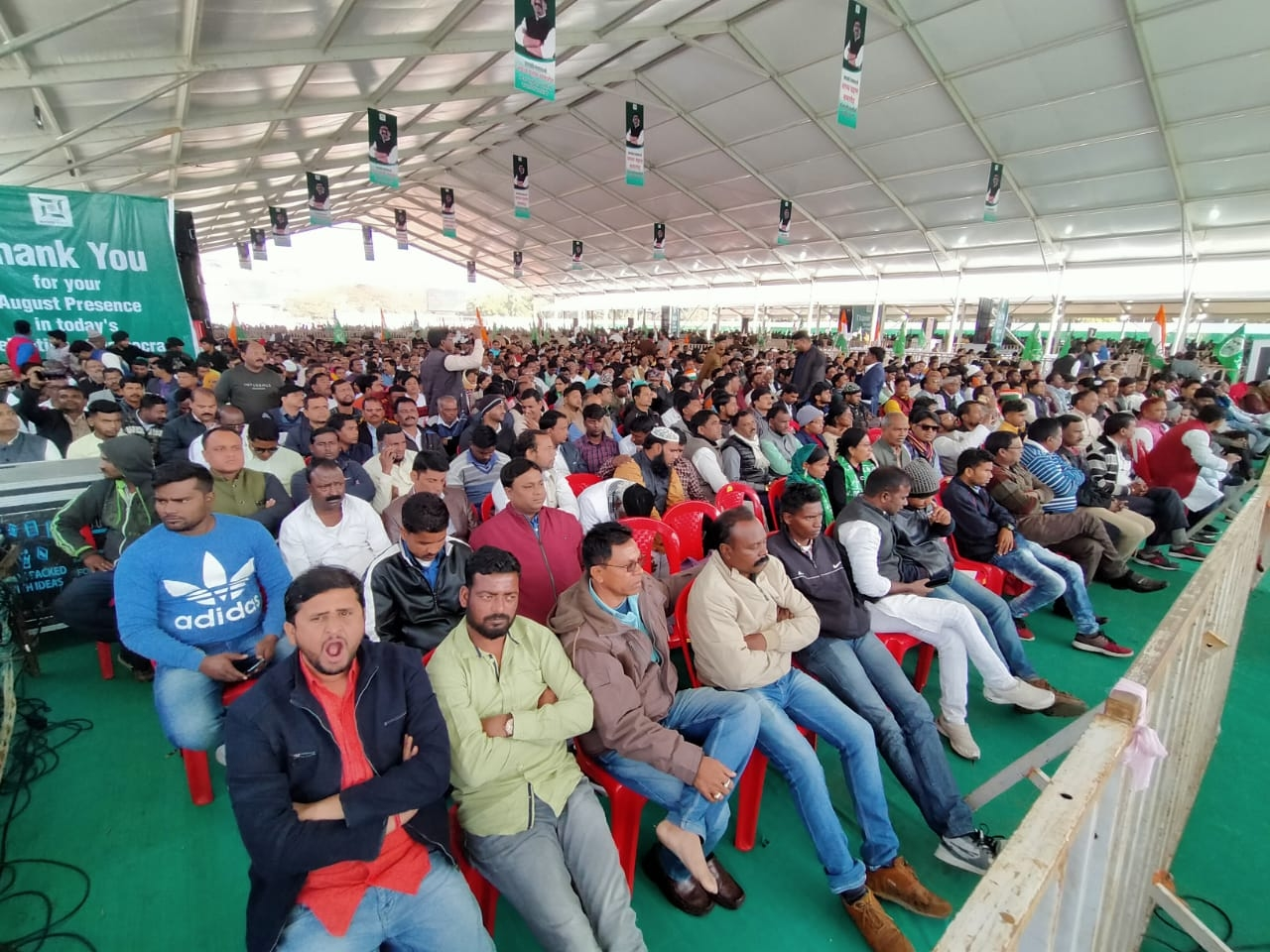 <p>Sunday turned out to be the day when Hemant Soren took oath of office as CM of Jharkhand.</p>
