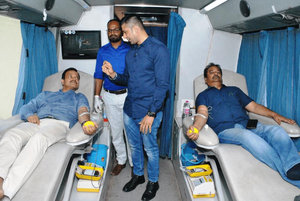 <p>आज दिनांक 01/05/2019 को सूचना भवन में झारखंड राज्य एड्स नियंत्रण समिति की ओर से रक्तदान शिविर लगाया गया. जिसमें सूचना एवं जनसम्पर्क विभाग के सचिव सुनील कुमार वर्णवाल एवं विभाग के…