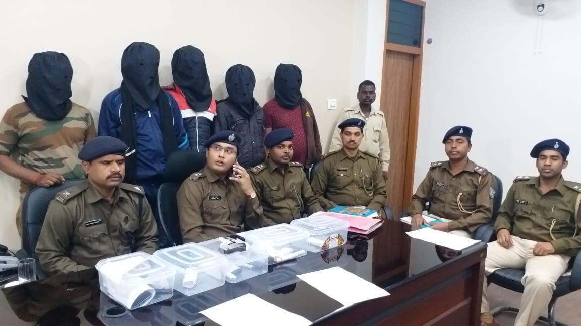 <p>Five wanted UP criminals arrested by Jharkhand Police. Ranchi Police got a big success. Five UP criminals including one having a reward of ₹ 51000 on his head were arrested. Several…