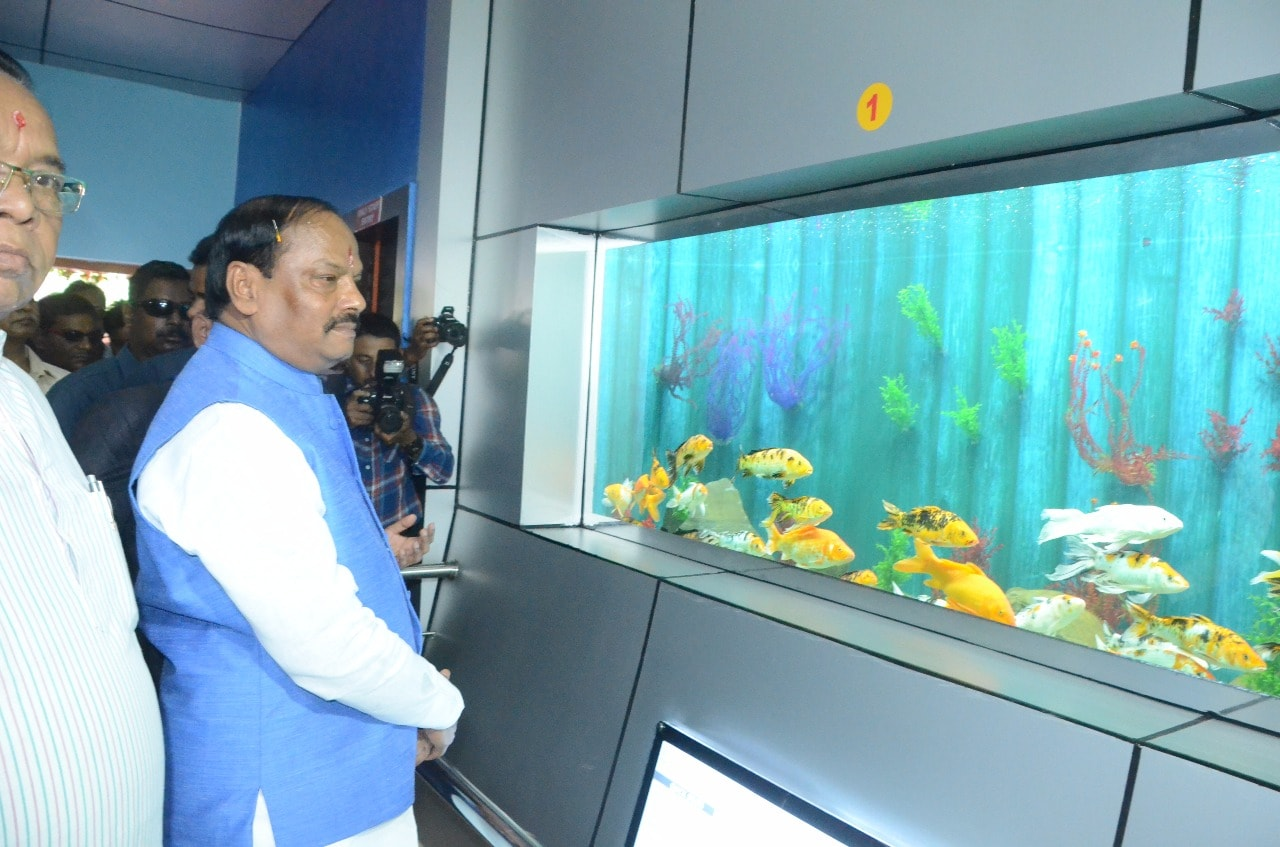 <p>A new Machli Ghar was set up at Birsa Munda Zoological park in Ranchi,India's biggest high speed flowing fresh water aquarium.Its size is -36000 square feet.The Bhawan where…