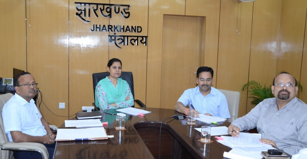 <p>While construction of 3826 Panchayat Bhawans was complete,133 new Panchayat Bhawans will be ready by end of July.Shift Pragya Kendras to these Panchayat Bhawans and make payment…