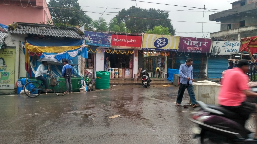 <p>Ranchi continues to receive lashes of rain as Depression over Bay of Bengal is yet to weaken.</p>