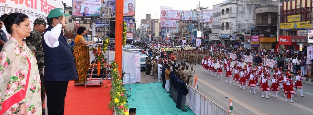 <p>The 142nd Birth Anniversary of Sardar Balabh Bhai Patel was celebrated as National Unity Day in Ranchi on Tuesday.All top functionaries including CM Raghubar Das,CS Rajbala Verma…