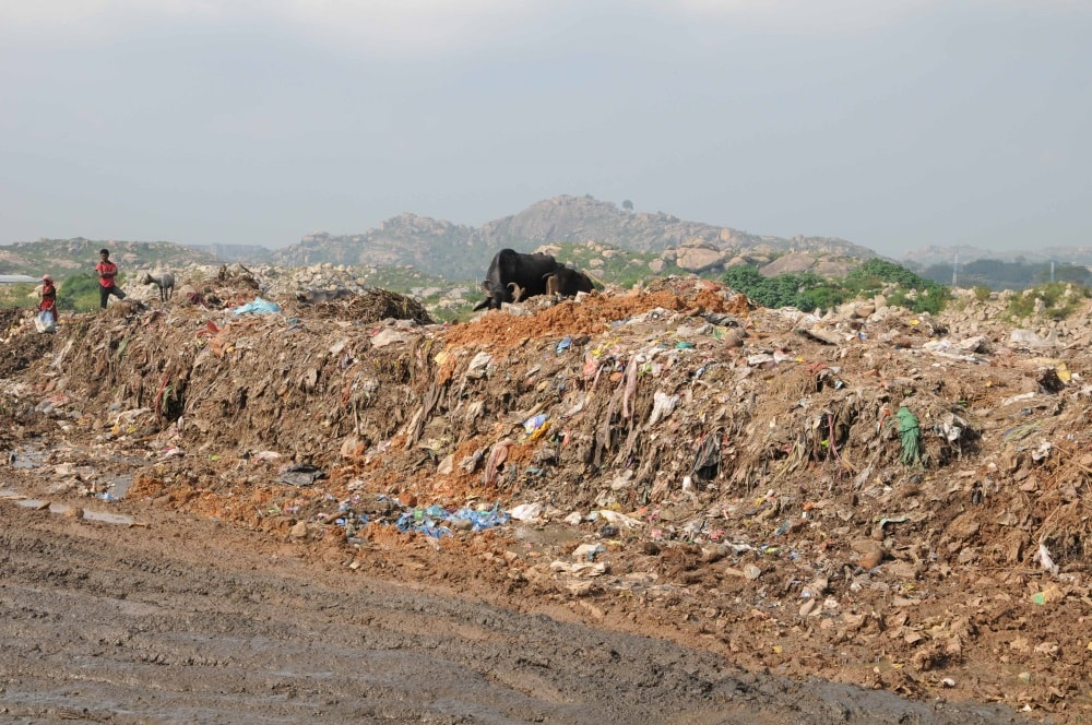<p>Filthy National Highway 39 at Jhiri near Ratu block in Ranchi,stinks exposing the horrible sight in BJP led Jharkhand state where many areas were living examples of complete…