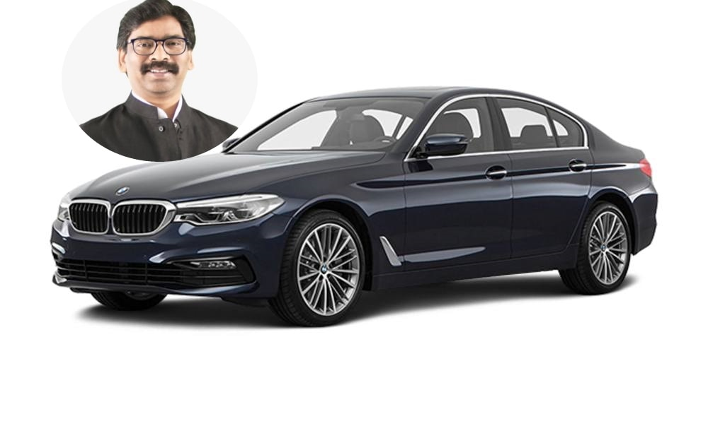 CM Hemant Soren to enjoy luxury travel on the roads by BMW