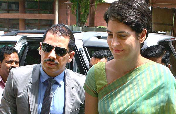 Robert Vadra's property issue turning crunchy by the day