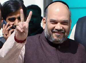 Vote for BJP for stable government, says Amit Shah