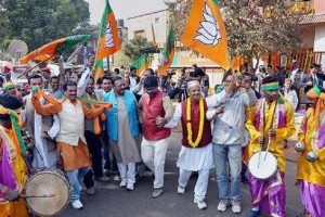 BJP heading to form government in Jharkhand