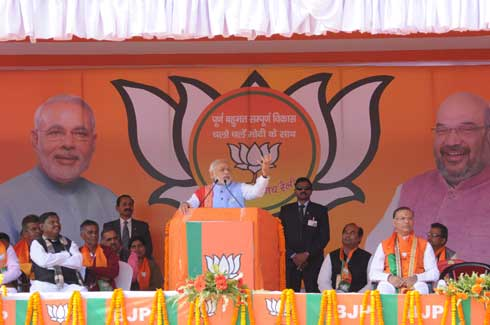 Focus on development, says Modi