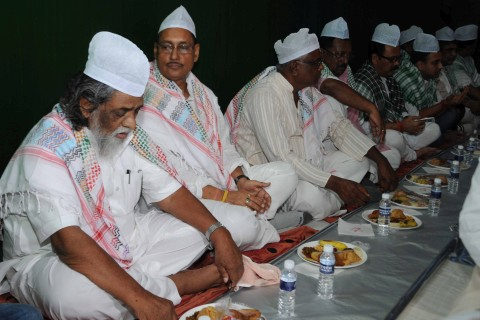 JMM leaders attend Iftar party in Ranchi