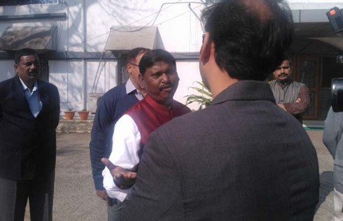 Ex CM Arjun Munda to campaign for BJP candidates in Bihar