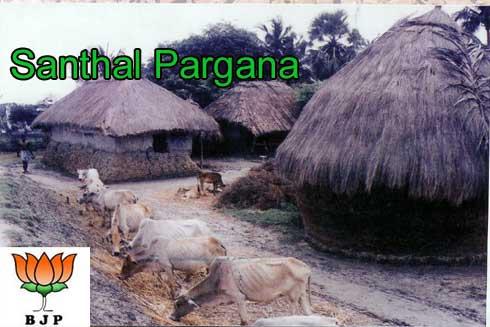 BJP faces big challenge in Santhal Pargana