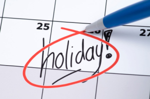 Holiday time off,offices to remain open on December 27-28