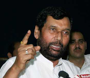 Paswan's bid to gain foothold in Jharkhand